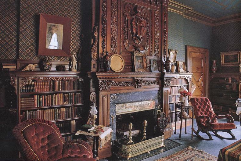 Английские старинные интерьеры фото