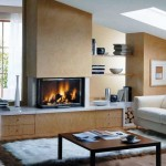 Встроенные электрические камины в интерьере квартиры