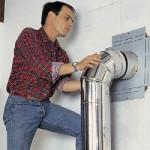 Как сделать и установить дымоход для камина