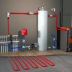 Схема подключения газового котла к отоплению