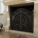 Решетка для камина: виды и функции