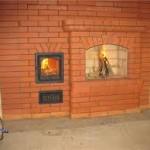 Технология порядовки камина из кирпича