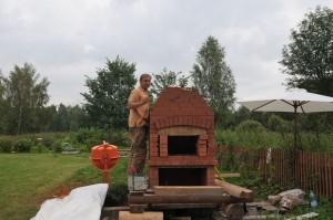постройка камина-мангала