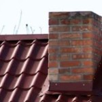 Облицовка дымохода внутри дома и на крыше