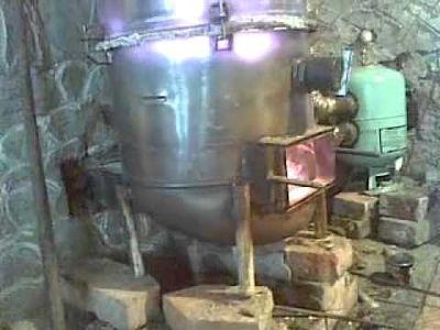 Пиролизные печь своими руками