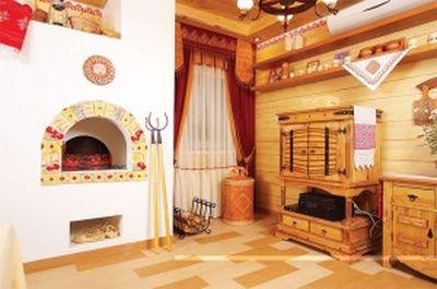 Пример отделки печи в своем доме