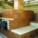 Кирпичная печь каменка для бани своими руками