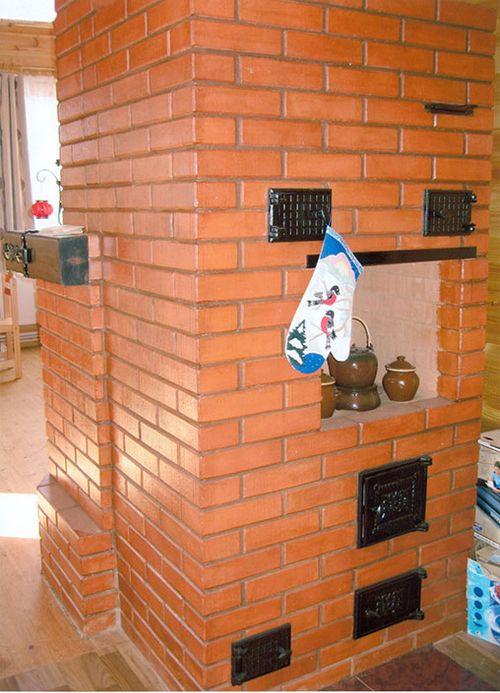Современная дровяная печь