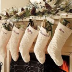 Рождественское и Новогоднее украшение каминов
