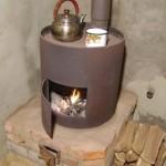 Какую печь сделать для отопления гаража
