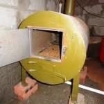 Водяное отопление дома от печи
