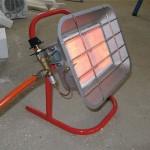 Газовые отопители для гаража: отопление газом