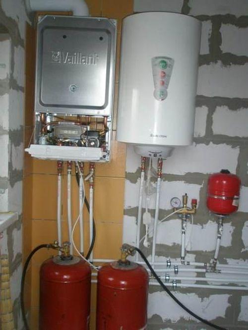 Отапливаем дом с помощью газовых баллонов