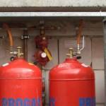 Отопление частного дома газовыми баллонами