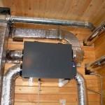 Как организовать воздушное отопление частного дома
