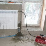Промывка и опрессовка отопительной системы в многоквартирном доме