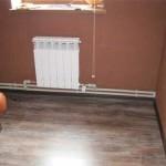 Комбинированная система отопления: радиаторы и теплый пол