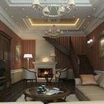 Продумываем дизайн гостиной с камином