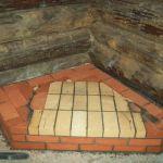 Как положить фундамент под камин