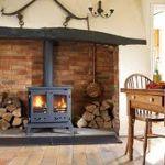 Как делать камин в каркасном доме: особенности установки