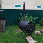 Делаем печь для сжигания мусора на даче